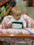Big girl shopping at Home Depot!